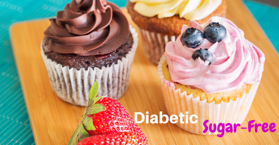 Diabetic Cupcakes (Minimum of 10)