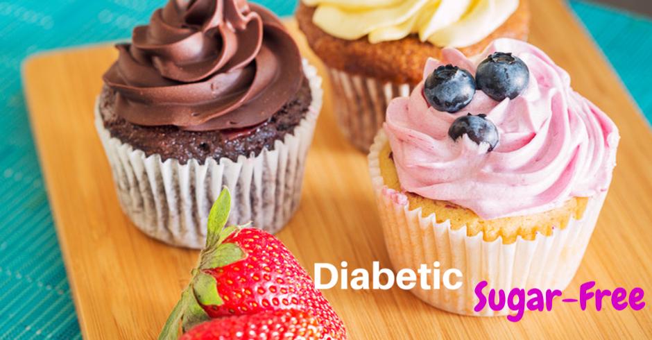 Diabetic Cupcakes (Minimum of 10)