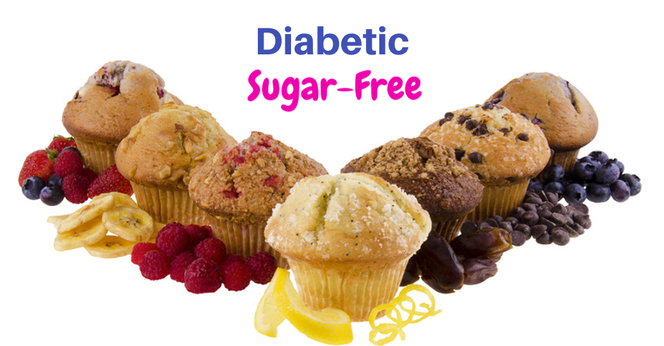 Diabetic Muffins (Minimum of 20)