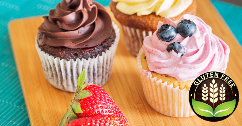 Gluten-Free Cupcakes (Minimum of 10)