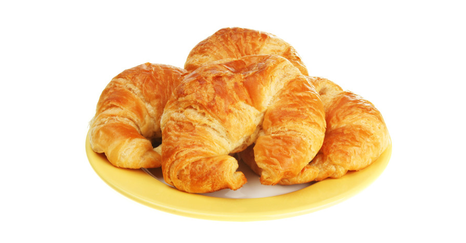 Plain Croissants (Minimum of 10)