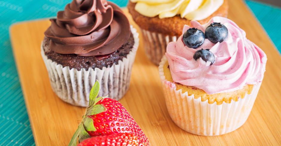 Iced Cupcakes (Minimum of 12)